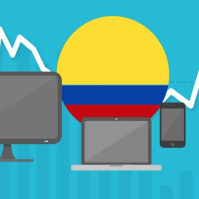 LA CONECTIVIDAD EN COLOMBIA timeline