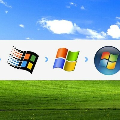 versões dos sistemas operacionais da Microsoft e do MS-Office timeline
