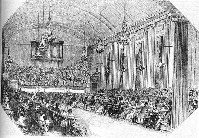 First Public Concerts in London
