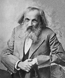 Dmitri Ivánovich Mendeléyev