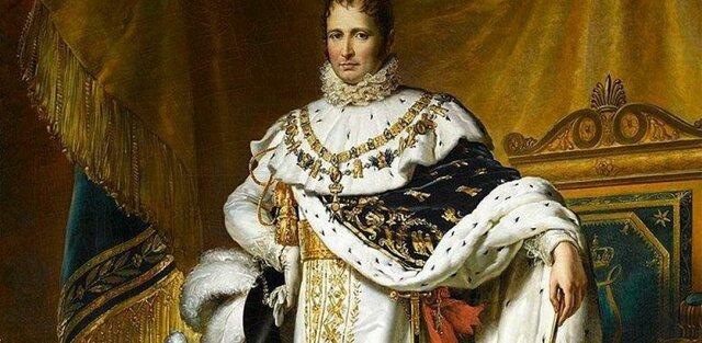 Nombra rey de España a su hermano, José I.