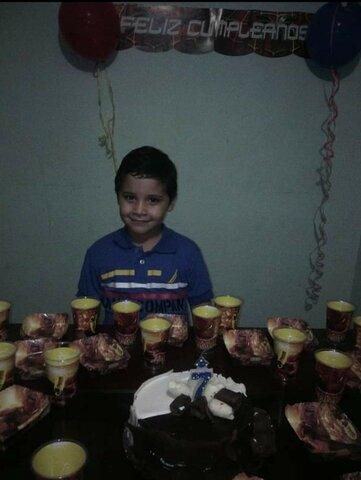 My 7th Birthday.
