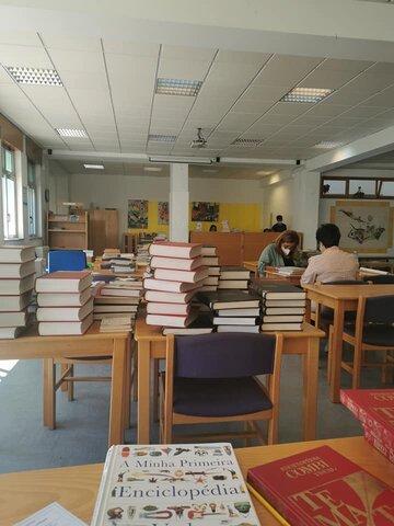 Dia da biblioteca - Bibliotecas Forte da Casa, preparamos o futuro todos os dias....