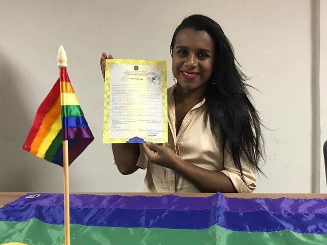 Mudança de nome de registro para pessoas Trans