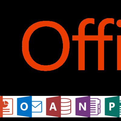 Linha do tempo do MS-Office timeline