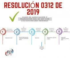 Resolución 0312 de 2019