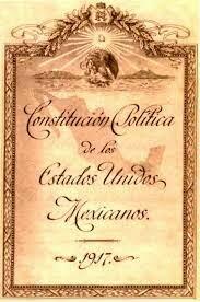 Promulgación de la Constitución de 1917 (Periodo postrevolucionario)