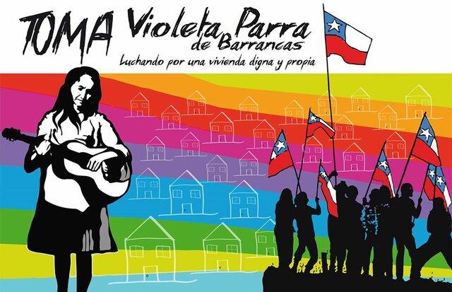 Toma de población Violeta Parra 1967-68