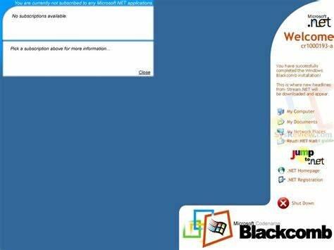 Windows Blackcomb