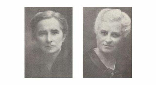 Hermanas Agazzi: Rosa A. (1866-1951) y Carolina A. (1870-1945)
