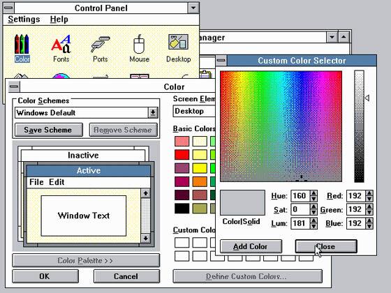 Windows 3.0 e Windows NT