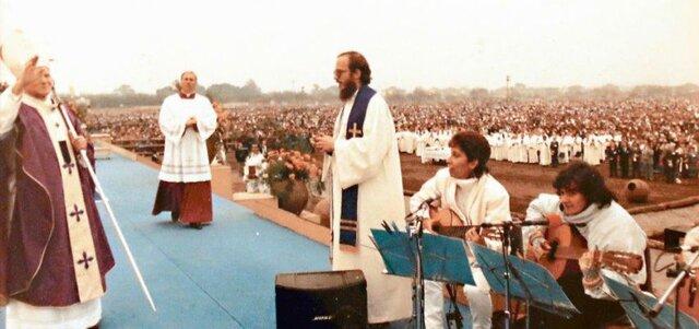 Paso del papa Juan Pablo II