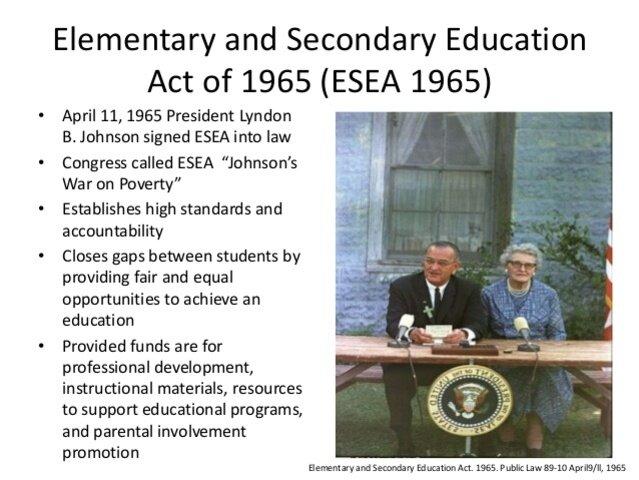 Elementary & Secondary Education Act