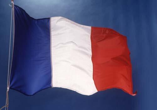se aprueba la nueva bandera de francia (azul, blanca y roja)