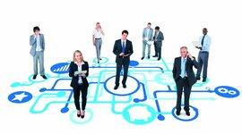 Orígen del Desarrollo organizacional timeline