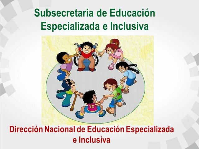 Creación de la Unidad de Educación Especial en Ecuador