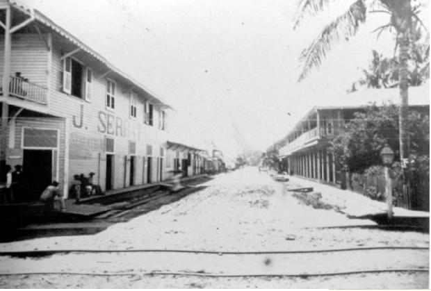 Construcción del Ferrocarril  (Atlántico)