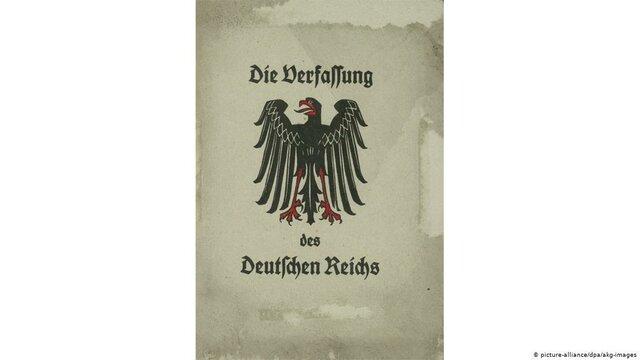Constitución Alemana de Weimer