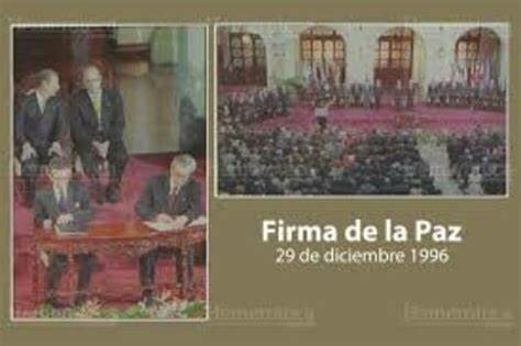 Firma de los Acuerdos de Paz - Oficial