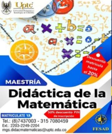 Maestría en Didáctica de la Matemática.