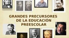 Diferentes teorías y Precursores de la educación infantil.         LOURDES JIMENEZ timeline