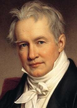 """Published """"Essay on the Geography of Plants"""", Alexander von Humboldt"""