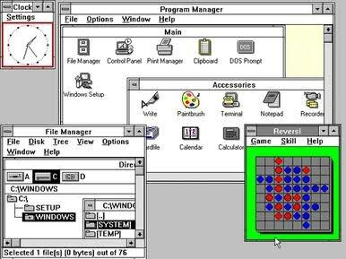 Windows 3.0 - 3.1