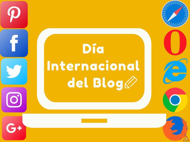 Dia internacional del blog