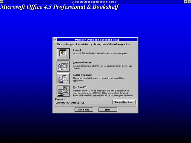 Microsoft office 4.3