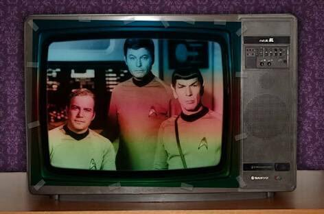 Primera imagen de la televisión a color en Colombia