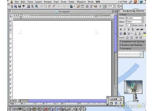 Microsoft office 2001