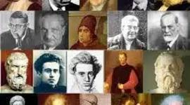 Los autores más importantes de matemáticas, física y química. timeline