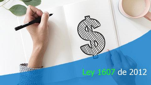 Ley 1607 de 2012
