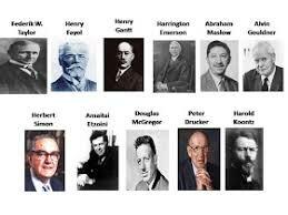 Precursores de la Administración Moderna