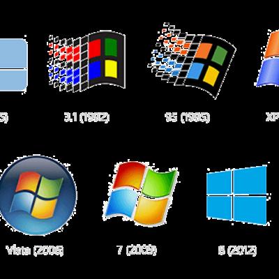 Avanço tecnológico dos sistemas operacionais da Microsoft e do MS-Office. timeline