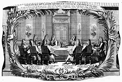 El Tratado de Ryswick.