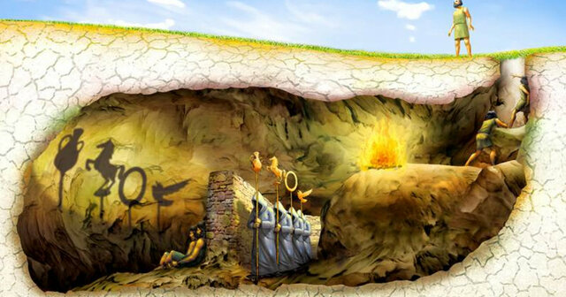 Platón: Teoría de los dos mundos (Alegoría de la Caverna)