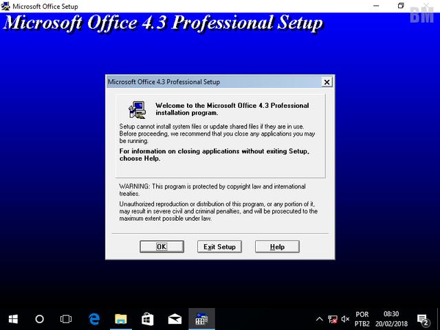 MS Office 4.3