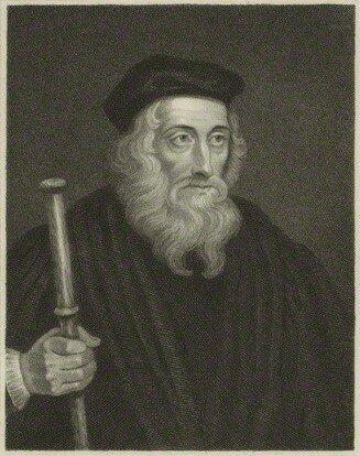 John Wycliffe (1320 – 1384)