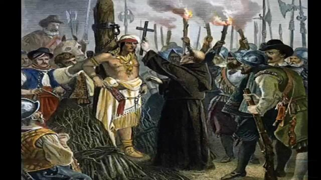 Ejecución de Atahualpa.