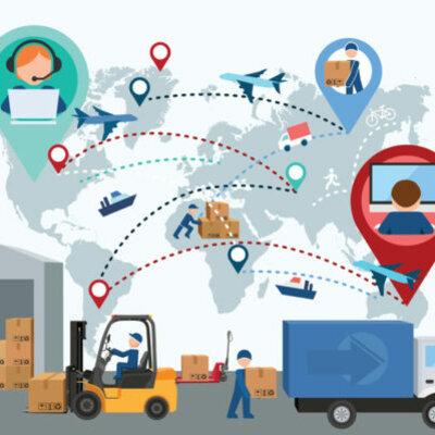 Historia de la logística y cadena de suministros timeline