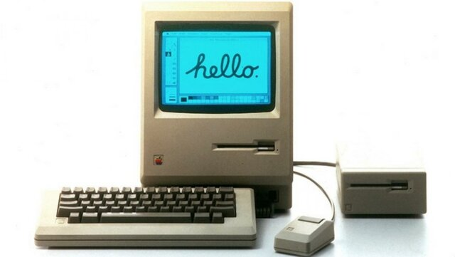 APPLE-Macintosh 128K