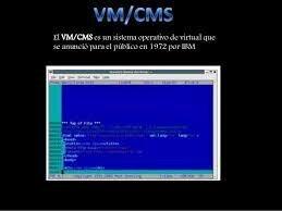 VM/CMS