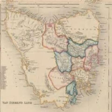 First Settlement in Van Diemen's Land