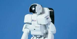 Honda's P2 humanoid robot was first shown in 1996