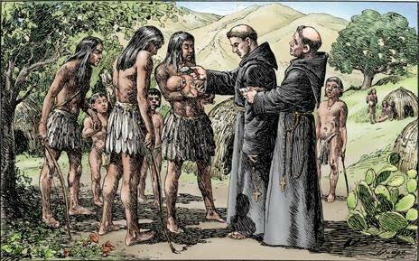 Llegada de los Franciscanos