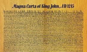 1215  La Carta Magna