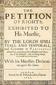 Jun 7, 1628 La Petición de Derechos