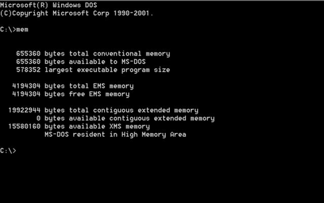 MS-DOS/IBM PC DOS