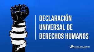 1948  Declaración de los derechos humanos